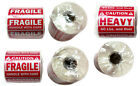 "FRAGILE(1""x3"", 2""x3""),HEAVY(2""x3"") HANDLE WITH CARE Stickers Labels - Waterproof"