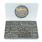 302 ASSORTED 6g 8g STAINLESS SECURITY POZI COUNTERSUNK SELF TAPPING SCREW KIT