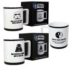Star Wars Imperial Mug New Stormtrooper Darth Vader Gift Box Tea Coffee Brew Cup $18.12 CAD