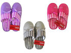 IZOD Ladies Women's Slippers Scuffs New Assorted Sizes Colors Pink Purple Gray