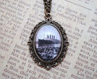 Titanic Pendant Necklace (Handcrafted, Vintage Antique Style, Boat, Ship, Sea)