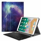 iPad Pro 10.5 Bluetooth Keyboard Case Cover with Built-in Apple Pencil Holder