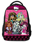 16'' MonsterHigh Girl Kids Shoulder Bag Backpack Book Travel Casual School Bags