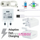 GENUINE SAMSUNG GALAXY S7 / S7 EDGE FAST QUICK CHARGER & MICRO USB CABLE