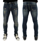 Streetwear Special Sixth June Destroyed Biker Skinny Jeans