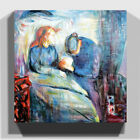 Premium Canvas Print Wall Art Edvard Munch The Sick Child (1)