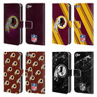 NFL 2017/18 WASHINGTON REDSKINS LEATHER BOOK CASE FOR APPLE iPOD TOUCH MP3