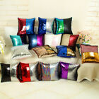 """Chic 16""""Magic Pillow Case Reversible Sequin Glitter Sofa Cushion Cover Touch"""
