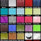 BUY 3 GET 3 FREE 10M - 6mm Organza Ribbon - Various Colour - 10Mtrs UK SELLER