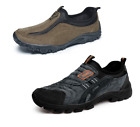 Mens Adults Casual Walking Loafers Slip On Flats Shoes Faux Suede SIZE Outdoor