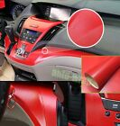 Optional - Hot Car Interior Furniture Leather Film Vinyl Wrap Sticker Red AB