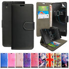Stylish Premium Leather Flip Case Wallet Cover For New Motorola Moto C Phone