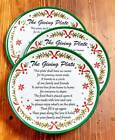 The Lakeside Collection Set of 3 Melamine Giving Plates -