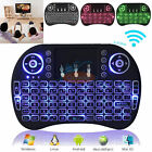 i8B 2.4G Wireless Mini Keyboard Air Mouse Qwerty Remote Touchpad Android TV BOX