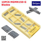 10/20x CNC Carbide Tips Inserts Blade Cutter Lathe Turning Boring Bar Tool + Box