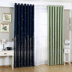Castle Shade Living Room Bedroom Curtain Blackout Screens Sheer Window Curtains