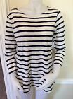 Old Navy Women`s Relaxed Mariner Stripe Tee Top
