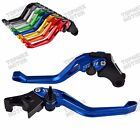 CNC 3D Brake Clutch Levers for Triumph Thruxton,Scrambler,Bonneville/SE/T100 $29.98 USD