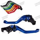 CNC 3D Brake Clutch Levers for Triumph Thruxton,Scrambler,Bonneville/SE/T100 $28.48 USD