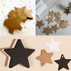 100pcs Star Kraft Paper Wedding Party Favor Gift Card Price Label Luggage Tags W