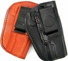 Tagua LEATHER 4 IN 1 IWB OWB Inside Pants & Belt Holster - Choose Gun & Color