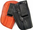 TAGUA RH 4 IN 1 IWB OWB Inside Outside Pants Leather Holster CHOOSE GUN & COLOR