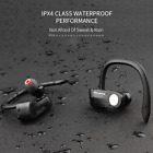 Sports Waterproof Wireless Bluetooth Headset Stereo Headphone Earphone With Mic