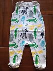 NEW***BABY STAR® Cute BOYS Cotton Singlet One Piece***White***12 month