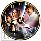 BRAND NEW T-115 STAR WARS-CD CLOCK-FAST FREE SHIPPING-BUY IT NOW-GREST GIFT