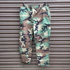 US ARMY SURPLUS ISSUE RIPSTOP WOODLAND CAMO COMBAT TROUSERS G1,MARSOC SEALS SF