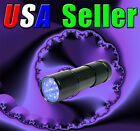 9 UV LED Ultra Violet Black Light 380-400nm F-509UV Flashlight