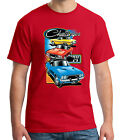 Dodge Challenger Adult's T-shirt Classic American Car 1974 Tee for Men - 1783C $18.43 USD on eBay