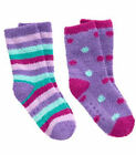NWT Gymboree HOLIDAY SHOP Purple Fuzzy Socks 2-Pack 2pk FREE US SHIPPING NEW