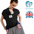 BABY SLING STRETCHY WRAP CARRIER PREMIUM - BREASTFEEDING - BIRTH TO 3YRS - UK