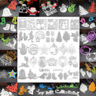 Christmas/Halloween Card Decor Scrapbooking Cutting Dies Stencil Paper Embossing