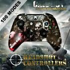 Xbox One S Slim Hydro-Dipped modded Controller - Spent Ammo Button/stick options