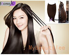 Remy Hair 100% Human Hair Extensions Invisible Wire Crown Apply Full Head Band