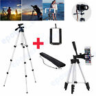 PORTABLE CAMERA CAMCORDER TRIPOD UNIVERSAL STAND + CARRY CASE FOR SAMSUNG IPHONE