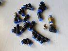 6mm Push Fit Pneumatic Fittings / Couplings / Connectors - Various Types