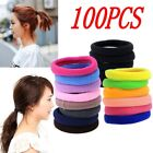 100pcs Lowest Price Girl Elastic Hair Ties Band Rope Ponytail Bracelet NEW