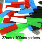 32mm Glazing Packers Floor Glass Shim Window Packing Spacers Flat Plastic Frame