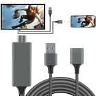 Lightning To HDMI Digital AV Cable Adapter HDTV Projector MHL Cable For iPhone 8