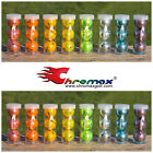 CHROMAX Golf Balls - 3-ball tubes - ALL COLORS AVAILABLE - Metallic balls - NEW