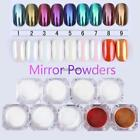 MIRROR POWDER PEARL EFFECT Pigment NAILS Nail Art MIRROR Decoration 9 Colors C5