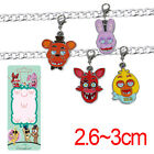 FNAF FIVE NIGHTS AT FREDDY'S METAL FOXY KEYCHAIN MOBILE IPHOE CHAIN KeyRing New