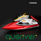 2.4G High Speed 4 CH RC Racing Boat Electric Powered Remote Control Boat Gift x1