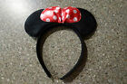 NEW MICKEY MOUSE OR MINNIE MOUSE EARS HEADBAND COSTUME