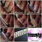 20 Hand Painted False Nails Full Cover Press on Nails Nudes Gift Boxed