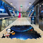 3D Happy Halloween Household Room Floor Wall Sticker Mural Decor Decal Removable