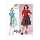 NEW Butterick Patterns by Gertie Sewing Pattern | B6285 | Misses' Top and Skirt